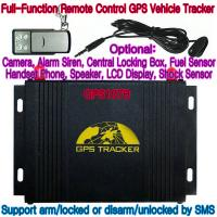 Best GPS107B All-In-One AVL GPS Vehicle Tracker W/ Photo Snapshot, Remote-Control & 2-Way talk wholesale