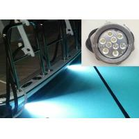 Best RGB IP68 LED Boat light 316 Stainless Steel RF Control LED Drain Light wholesale