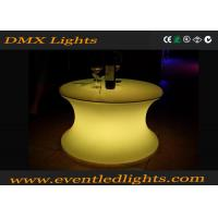 Best IP54 Water - Proof Recharge Led Outdoor Furniture , Led Table 1 Year Warranty wholesale
