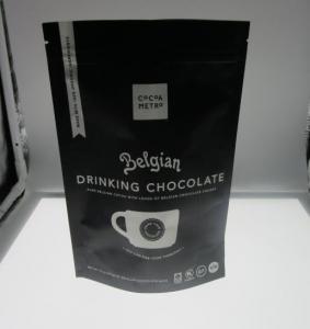 Best 250G / 500g / 1kg Coffee Packaging Bags / Aluminum Foil Bags with valve , black logo print wholesale