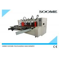 China Automatic Slitter Scorer machine For Carton Creasing / Electrical Thin Blade Slitting Machine on sale