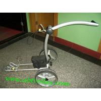 Quality Beautiful X3E electric push golf trolley with lithium battery tubular motors for sale