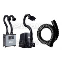 Quality Black Flexible Adjustable Plastic Fume Extraction Ducting With Square Head for sale