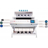 China Grain Crops Purifying Machine Of CCD Color Sorter With Power 3KW Voltage AC220V 60HZ for sale