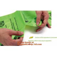 Quality Hot sale Compostable disposable biodegradable plastic garbage bag, Eco compostible bio degradable bags for sale