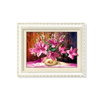 Quality Custom 16x16 Inches 3d Lenticular Photo Flowers & Animals Wall Art Print for sale