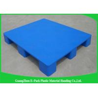 Quality Economica Cargo Nestable Plastic Pallets 9 Legs Export Blue 1200 * 1000mm for sale