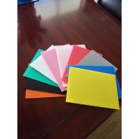 China 2mm-12mm colorful pp corrugated sheet,any size,any color you need on sale