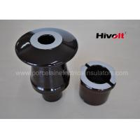 Quality Brown Color Transformer Bushing Insulator With DIN Standard 42539 for sale