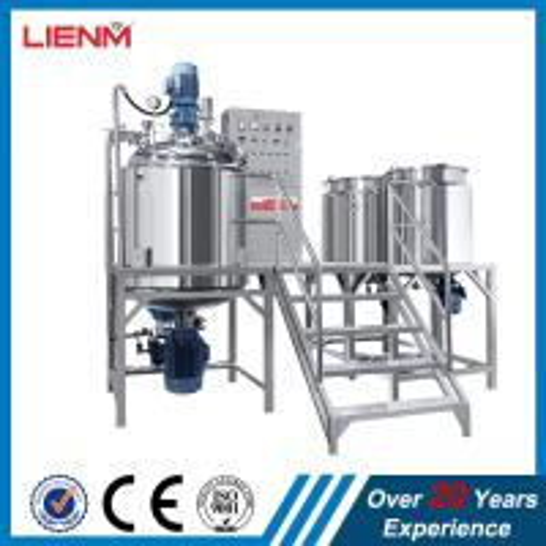Buy 50L, 100L, 200L, 300L, 500L cream ointment defoaming agitator mixer, vacuum emulsifier,homogenizer tank at wholesale prices