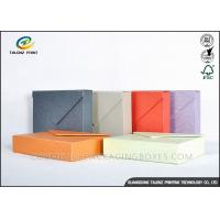 Quality Multiple Colors Jewellery Presentation Boxes , Cardboard Jewelry Boxes Enchanting Design for sale