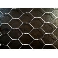 """Quality Hot Dipped Galvanized Hexagonal Wire Mesh , Chicken Mesh Net 1/2"""" 0.2m-3m Width for sale"""