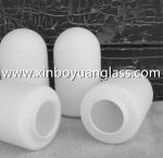 Quality Frosted matt milk white glass lamp shade pendant light for sale
