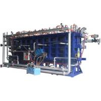 Quality Air Cooling Type EPS Foam Production Line EPS Block Molding Machine DN150 Steam Entry for sale
