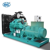 Soundproof Perkins Diesel Power Generator 1000KVA 800KW for Construction Site for sale