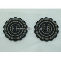 China Free sample custom soft pvc rubber embossed badge for military cloth on sale