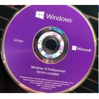 Quality French Windows 10 Pro Key Code Windows 10 Professionnel Version complete DVD Package for sale