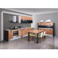 Best Country Design Thermofoil Perch Kitchen Cabinets With Stainless Steel Appliances wholesale