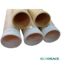Industrial dust filter bag for dust collector system