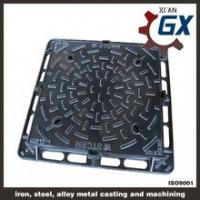 Quality GX Provide Casting Circular Sealed Manhole Cover for Gas Station for sale