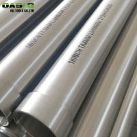 Quality Water Treatment 8 Inch Well Casing Tubing , Spiral Welded Galvanized Well Casing for sale