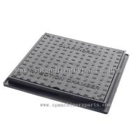 Quality Manufacturer Direct EN124 B125 Double Seal Ductile iron Square manhole cover for sale