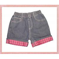 Quality denim child jeans shorts for sale