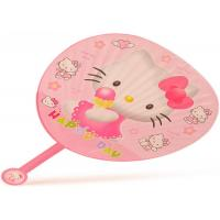 Best Personalized Small Plastic PP Hand Held Fans For Advertising Gift wholesale