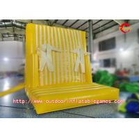 Buy cheap Leisure Games Inflatable Climbing Wall / Inflatable Magic Sticky Wall For Children from wholesalers