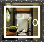 Quality Showerroom wall mirror LED bath mirror for sale