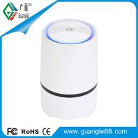 Quality USB desktop air purifier with negative ion HEPA filter CE RoHS FCC approved for sale