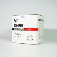 Quality Odorless Low Respiratory Resistance KN95 Respiration Face Mask for sale