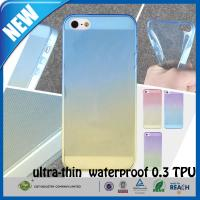 Quality Shockproof Transparent Rubber TPU Matte iphone 5s Custom Cell Phone Case for sale