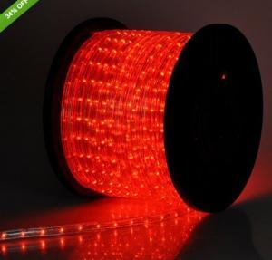 Best 1/2''2 wire 13mm led rope light strip 100/220V for decoration wholesale