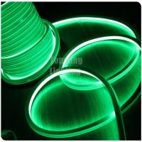 Best hot selling long life 110v green led neon square lights ip67 pvc for rooms wholesale