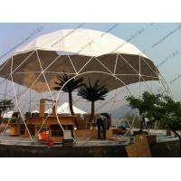 Quality Aluminium Frame Geodesic Dome Tent for sale