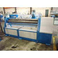 China Cnc Asymmetrical 3 Roller Plate Bending Machine on sale