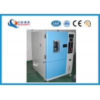 China Baking Finish ASTM Ozone Aging Test Chamber 12 ~ 16 mm/s Airflow Speed on sale