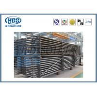 Hot Water / Steam Boiler Stack Economizer For CFB Boiler / Power Station for sale
