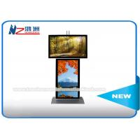 China Dual Screen Digital Signage Advertising Kiosk With Android Software Custom Logo on sale