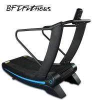 Quality China manufacturer curved treadmill woodway curve treadmill for sale for sale