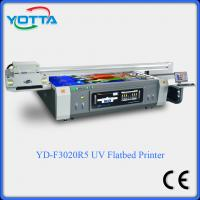 China UV flatbed printer for glass/ceramic/wood/metal/leather/Acrylic/marble on sale