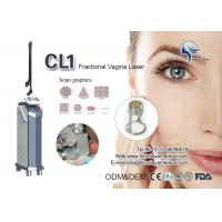 Quality Air Cooling Fractional Co2 Laser Machine / CO2 Scar Removal , Wrinkle Removing Machine for sale
