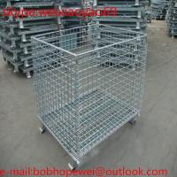 Best Stackable Storage Cage/ matal storage sheds/pallet cage/security cage/metal bin/steel storage cabinets/cage storage wholesale
