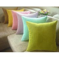 "China Embroidery Corduroy Velvet Sofa Pillows For Chair Bedding, 18"" X 18"" Pillow on sale"