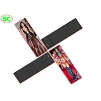 China 1500 Nits Led Poster Panel Display Ultra Thin Light Weight Advertising Screen Stands on sale