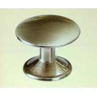 China Satin nickel drawer pull knob,size Dia23xH18.5,Zinc alloy,plating & color can OEM. on sale