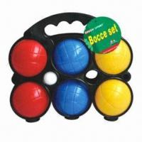 Best Bocce ball/bocce game, plastic bocce lawn game set, packed in display frame wholesale