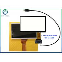 """Quality 7"""" Capacitive Touch Screen With USB Interface For Innolux AT070TN92 for sale"""