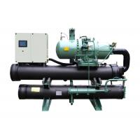 Quality R134a Screw - Compressor Liquid Water Cooled Water Chiller LCD / Touch Screen for sale